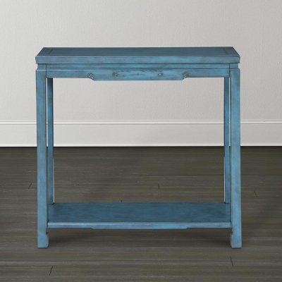 Bassett Teal Hall Console