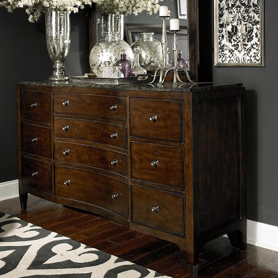 Bassett Dresser with Stone Top