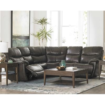 Bassett Brookville Leather Sectional
