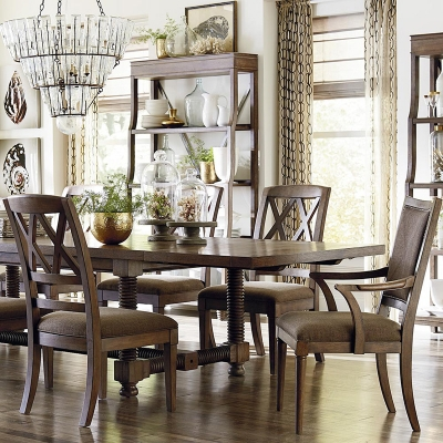 Bassett 104 inch Trestle Dining Table
