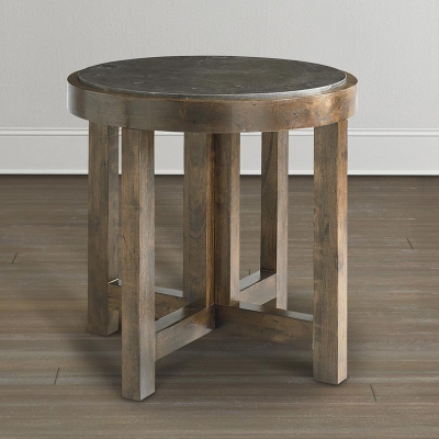 Bassett Round Lamp Table