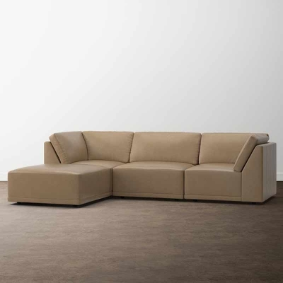 Bassett Knox Small Chaise Sectional