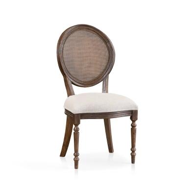 Bassett Oval Back Side Chair