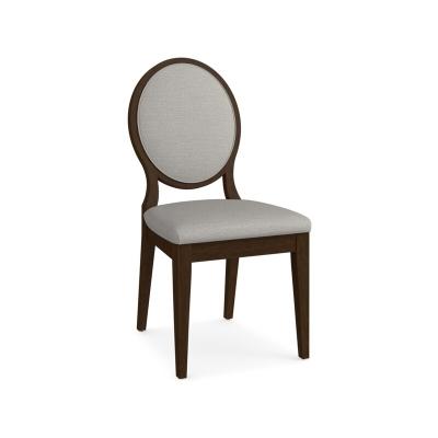 Bassett Oval X Back Upholstered Side Chair