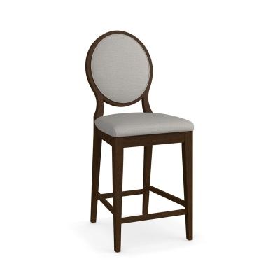 Bassett Oval X Back Upholstered Counter Stool