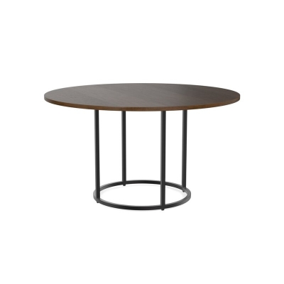 Bassett 54 inch Wood Dining Table with Round Base