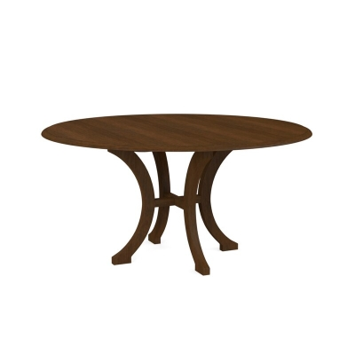 Bassett 60 inch Wood Dining Table with Splayed Base