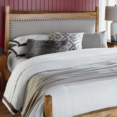 Bassett Live Edge Uph Panel Bed