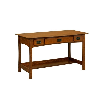 Borkholder 3 Drawer Desk Table