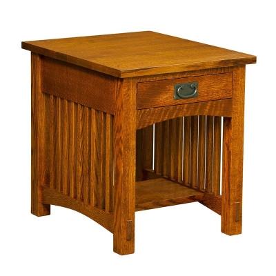Borkholder 1 Drawer End Table