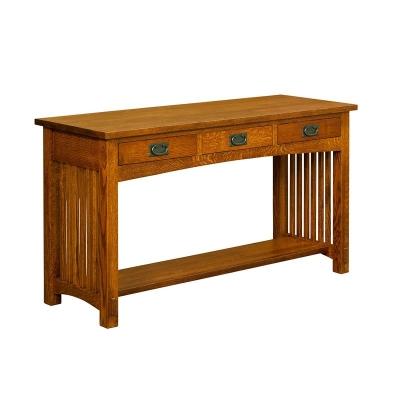 Borkholder 3 Drawer Sofa Table