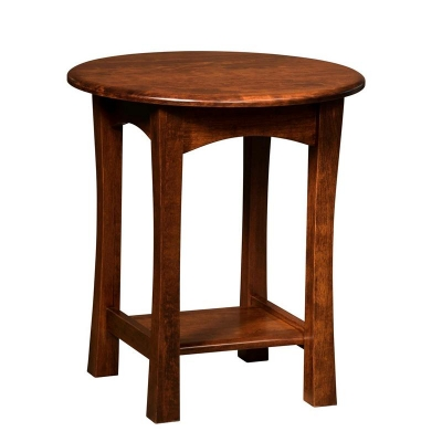 Borkholder Greenfield Round End Table