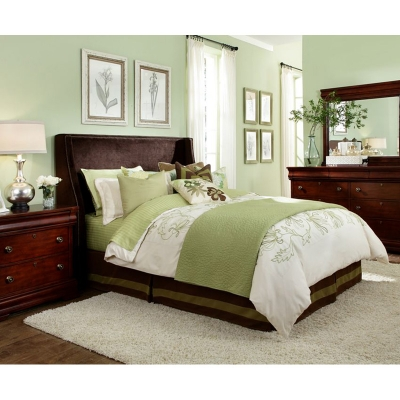 broyhill 1223 256 upholstered bed hamlyn bed discount