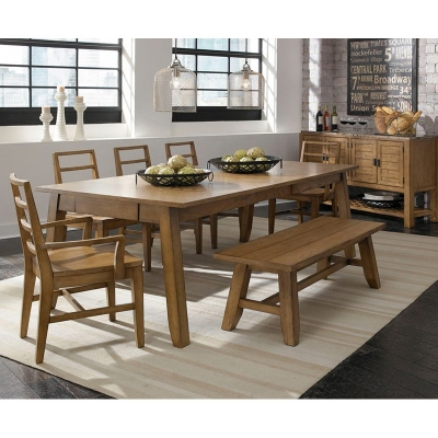 Broyhill 4333-532 Ember Grove Leg Dining Table Discount Furniture at
