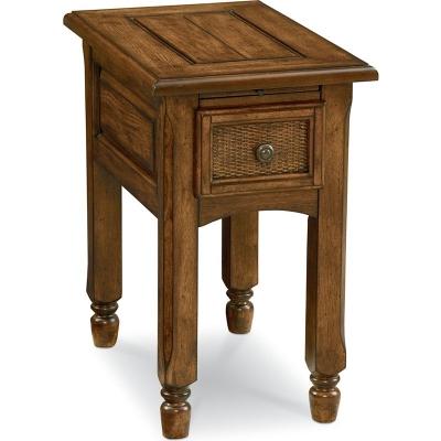 Broyhill Chairside Table Oak