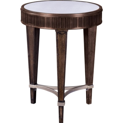 Broyhill Round Chairside Table