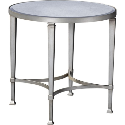 Broyhill Round Lamp Table