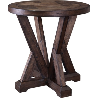 Broyhill Myrtle Avenue Piece Works Round Lamp Table