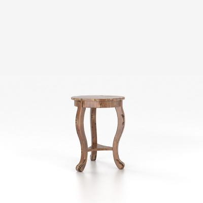 Canadel Round End Table