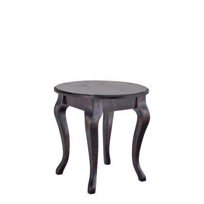 Canadel Farmhouse Round end table with legs
