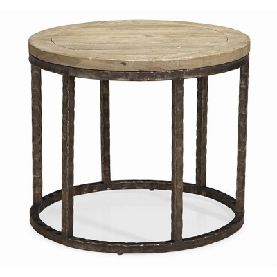 Caracole In the Round Side Table