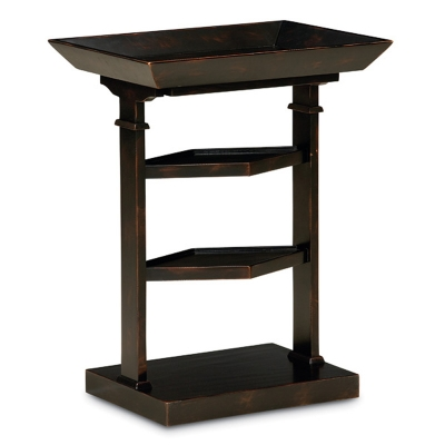 Caracole Be-trayed Side Table