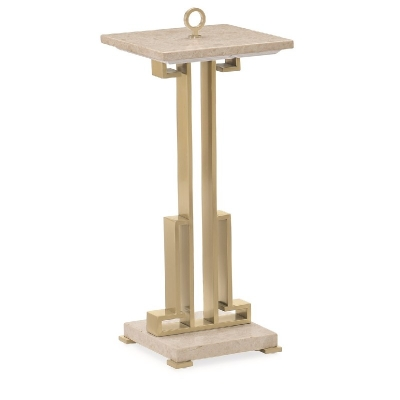 Caracole Two Stoned Accent Table