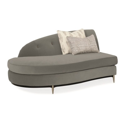 Caracole Threes Company LAF Chaise Chaise