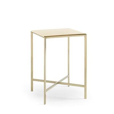 Caracole Gold Bullion Accent Table