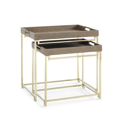 Caracole In Out Box Side Table