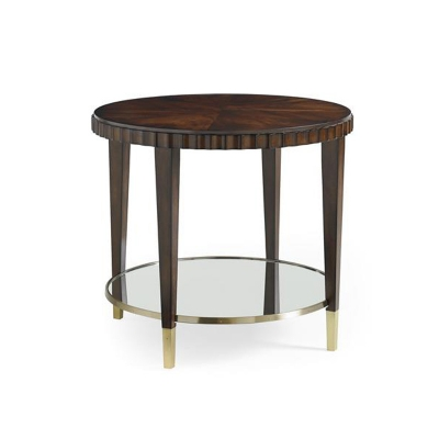Caracole Catch A Glimpse Side Table