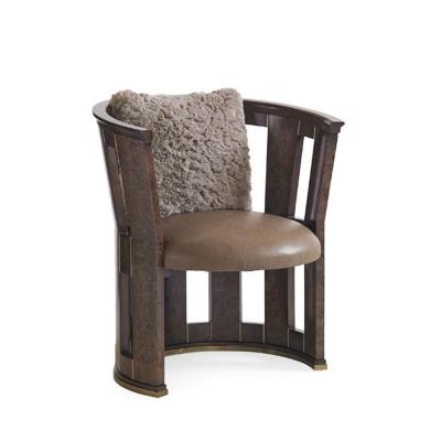Caracole Burl Esque Accent Chair
