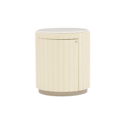 Caracole Tranquil Drum Table