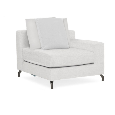 Caracole Arm Or Off LA Seated Loveseat