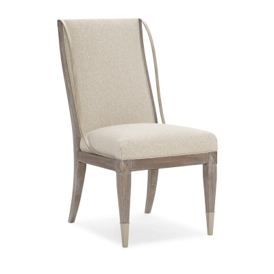 Caracole Open Arms Side Chair