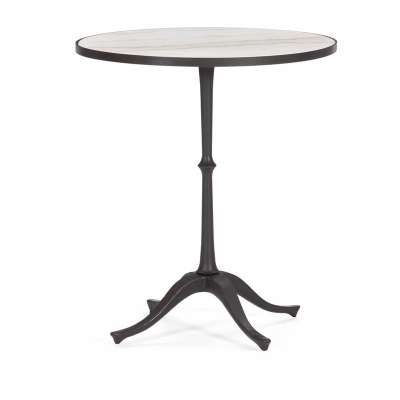Caracole Around The Circle Accent Table