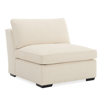 Caracole Back On Track Armless Chair Sectional