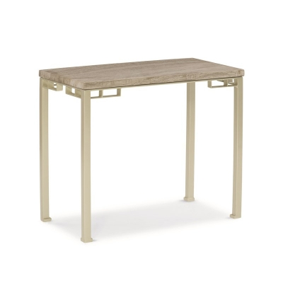 Caracole Rolling Stone End Table
