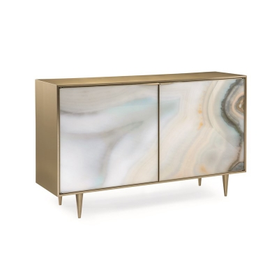 Caracole Extrav Agate Console