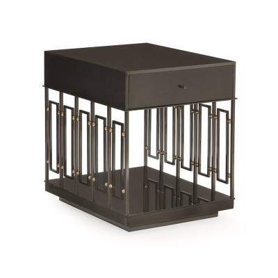 Caracole Box It Up Side Table