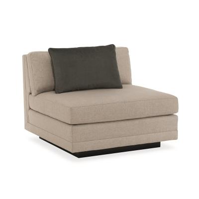 Caracole Fusion Armless Chair