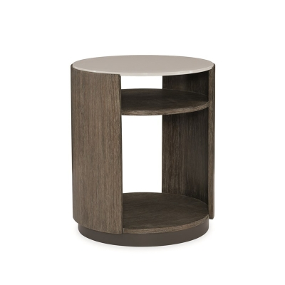 Caracole Fusion Drum Table