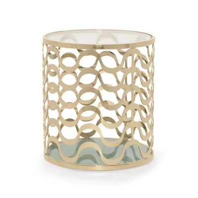 Caracole Catch A Wave End Table