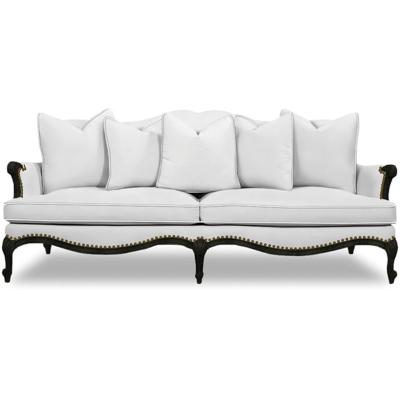 Caracole Oui Oui Leather Sofa