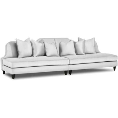 Caracole Ooh La La Leather Sofa