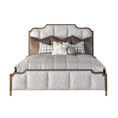 Carson California King Panel Bed