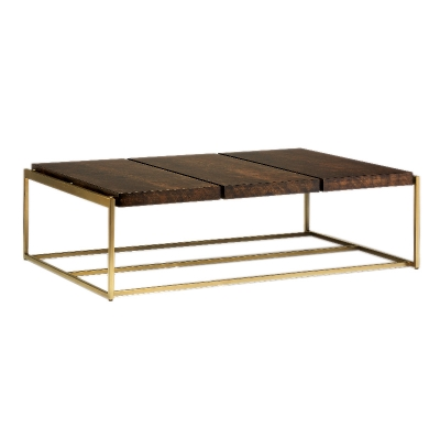 Carson Paneled Cocktail Table