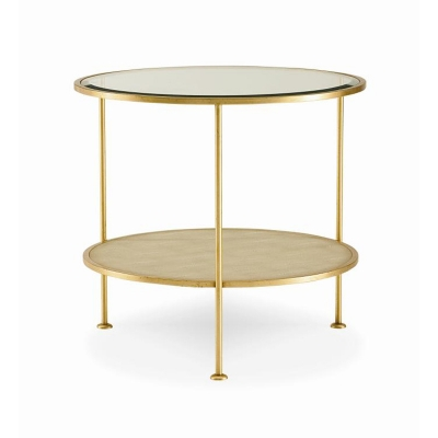 Century Adele Round End Table