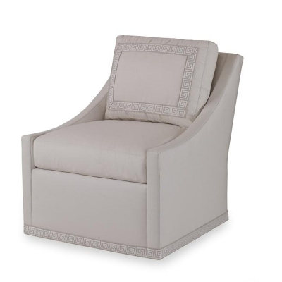 Century Dean Outdoor Swivel Chair