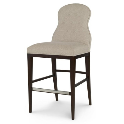 Century Page Tufted Counter Stool